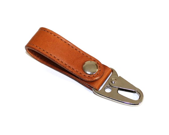 Image of Built Lanyard - London Tan Essex
