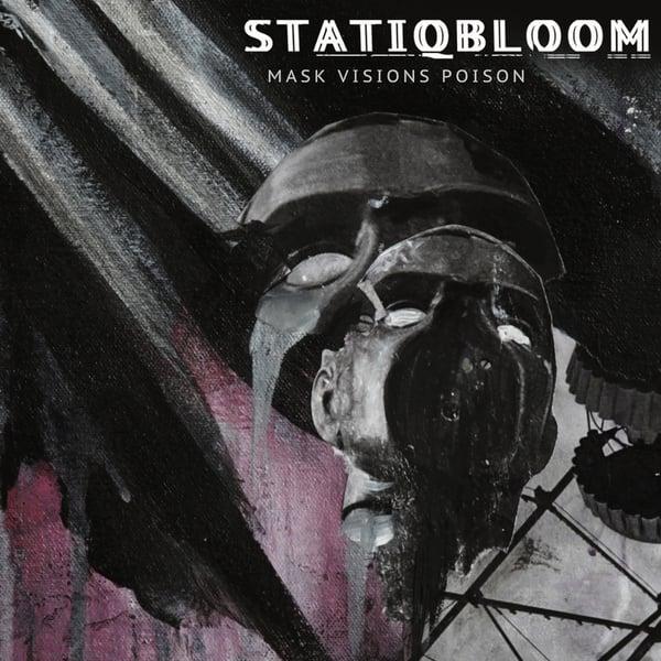 Image of STATIQBLOOM - mask visions poison LP