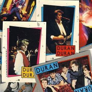 Image of DURAN DURAN POP TRADING CARDS & STICKERS - 1985
