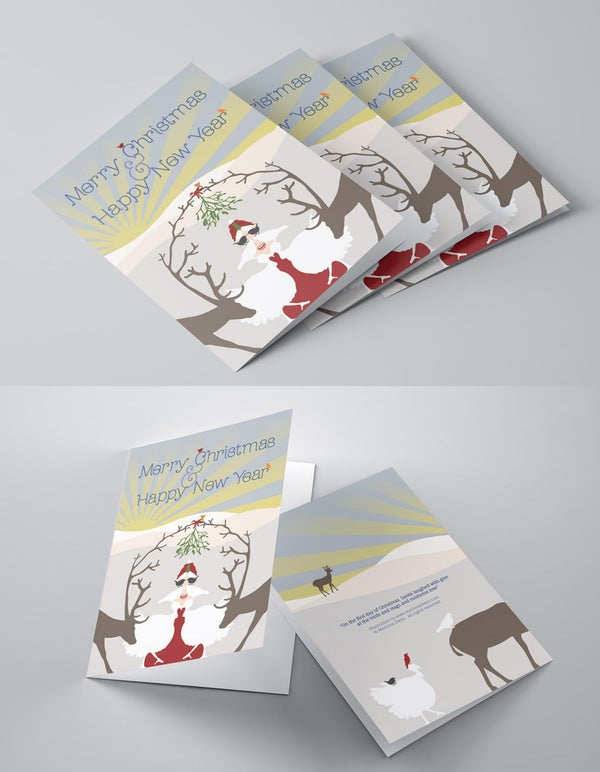 Image of Pack of 3 Christmas Cards