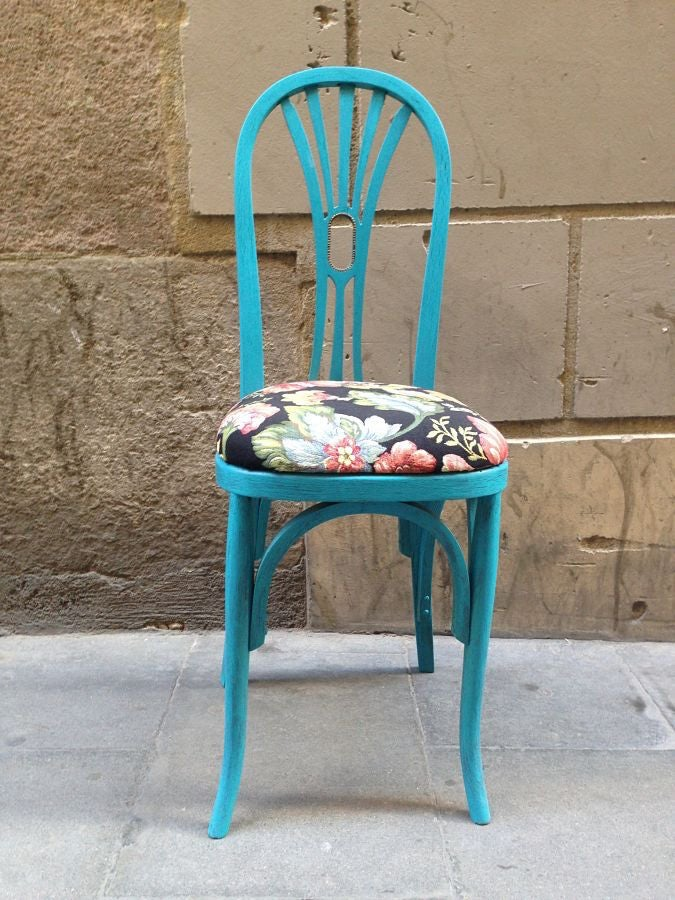 Image of Silla Victoria (Azul Vintage)