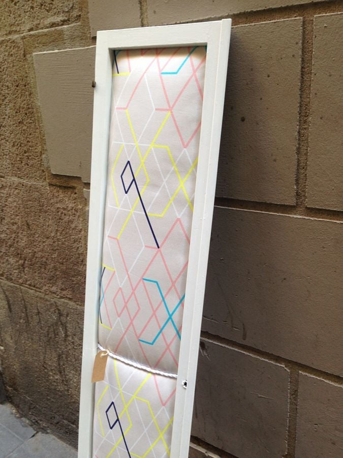 Image of Banquito y Cabecero Geometric