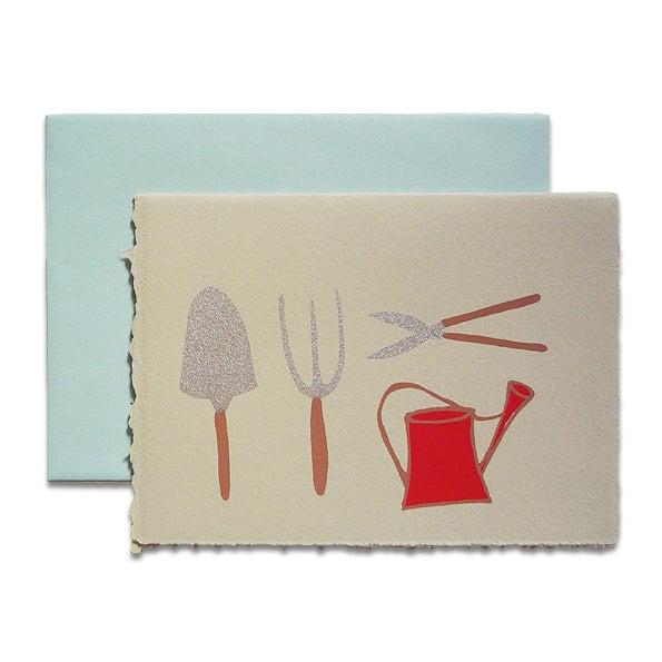 Image of Karte - Garden Tools