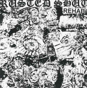 Image of RUSTED SHUT - Rehab LP (Dull Knife)  $14.00