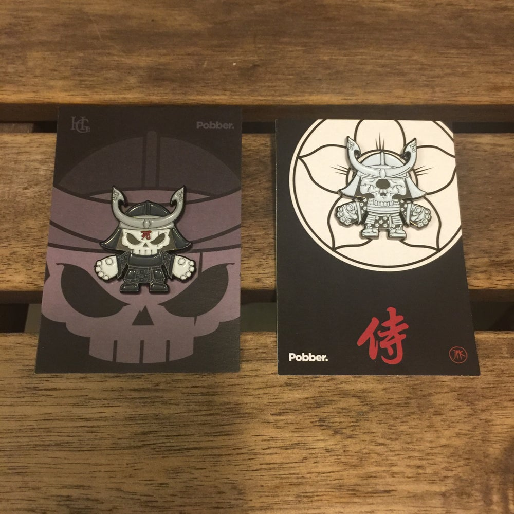 Image of Samurai Enamel Pin