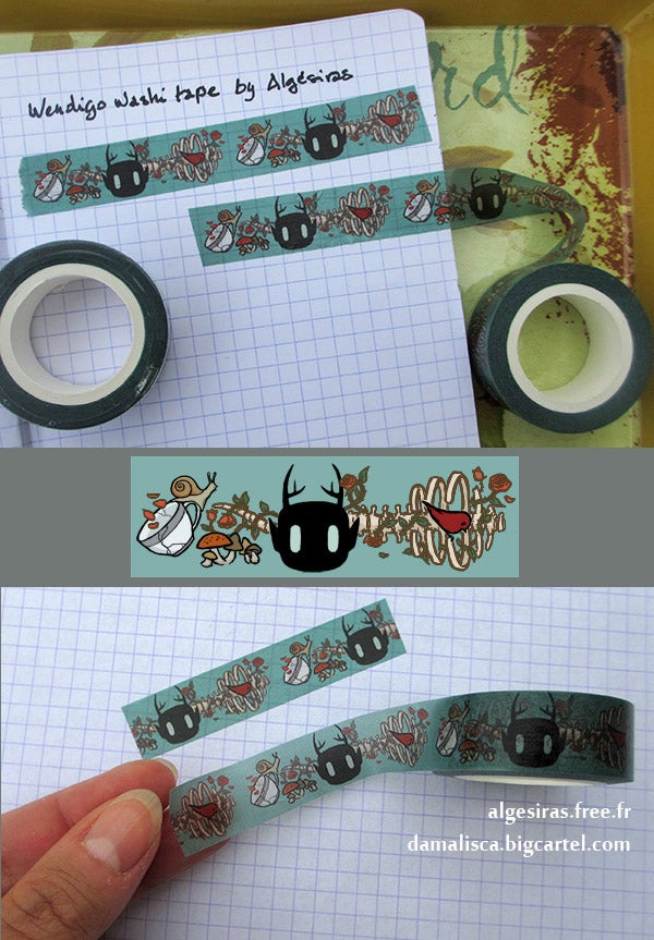 Image of Wendigo Washi tape / Masking tape - 1 roll