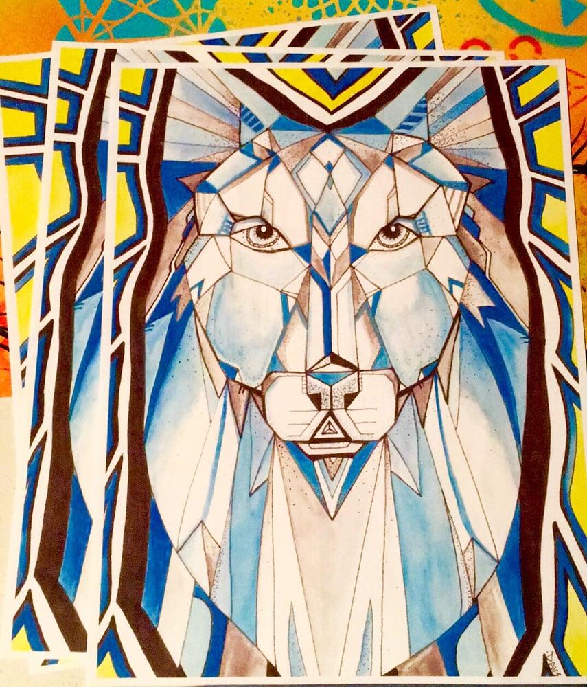 Image of Wolf Spirit print