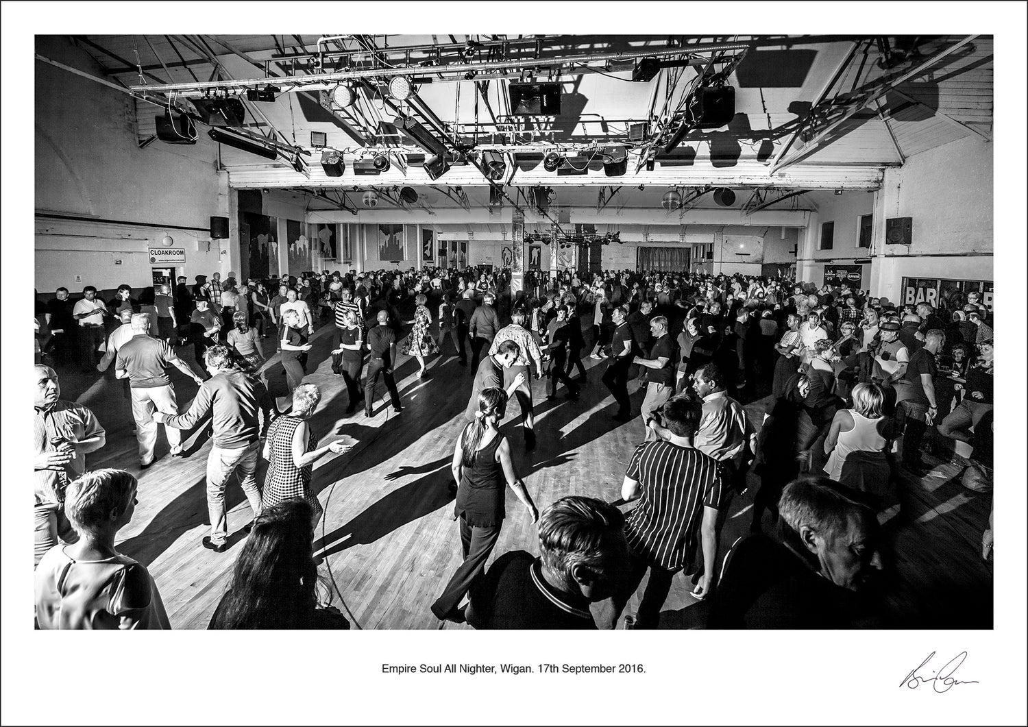 Image of Empire Soul Wigan All Nighter Print