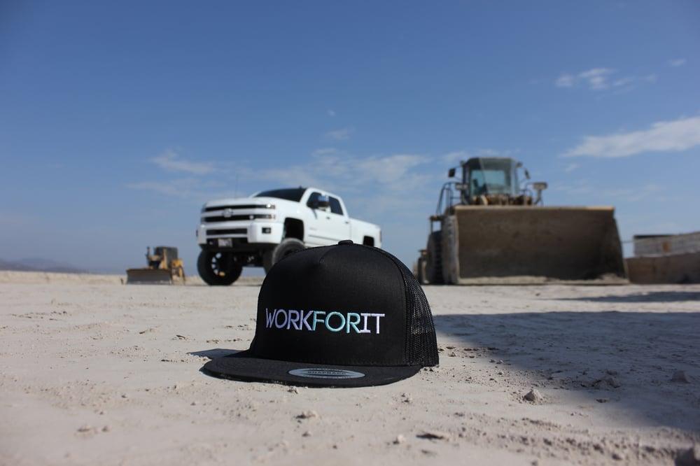 Image of Mesh Snapback Trucker Hat