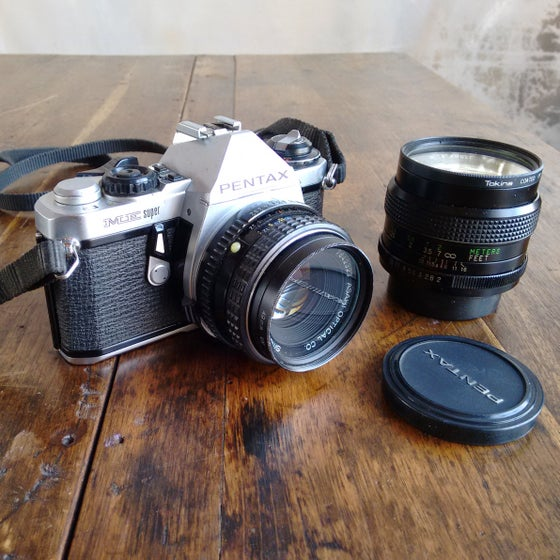 Image of Pentax ME Super SLR Camera