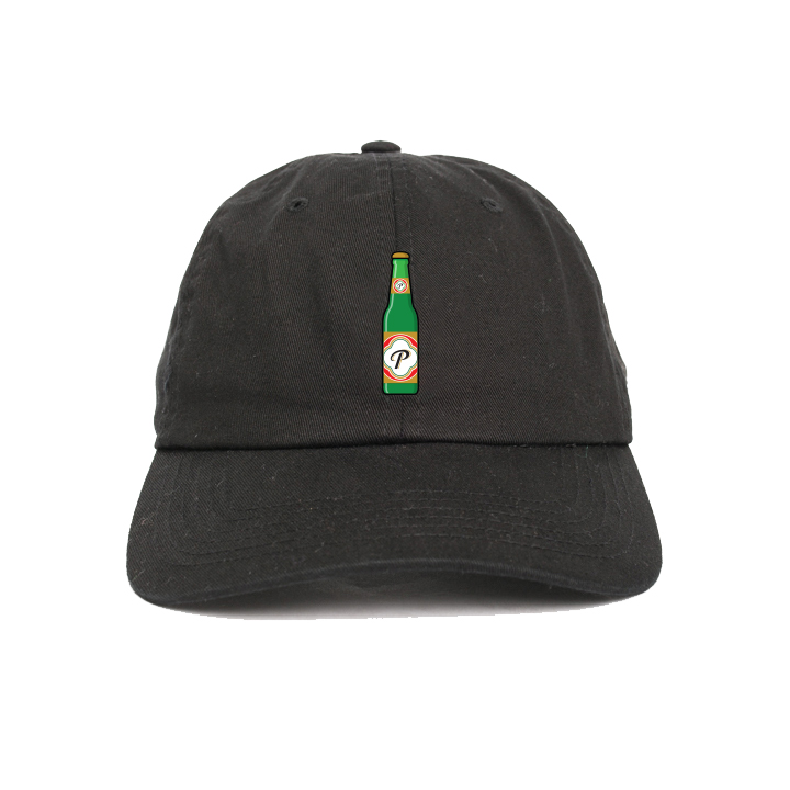 Image of Peralta Project + Brunch Bounce 'Cheers' Cap (Black) [Pre-Order]