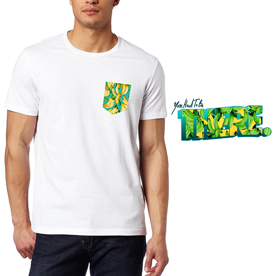 Image of You Had To Be There. 'Amarillo o Verde' Pocket Tee [Pre-Order]