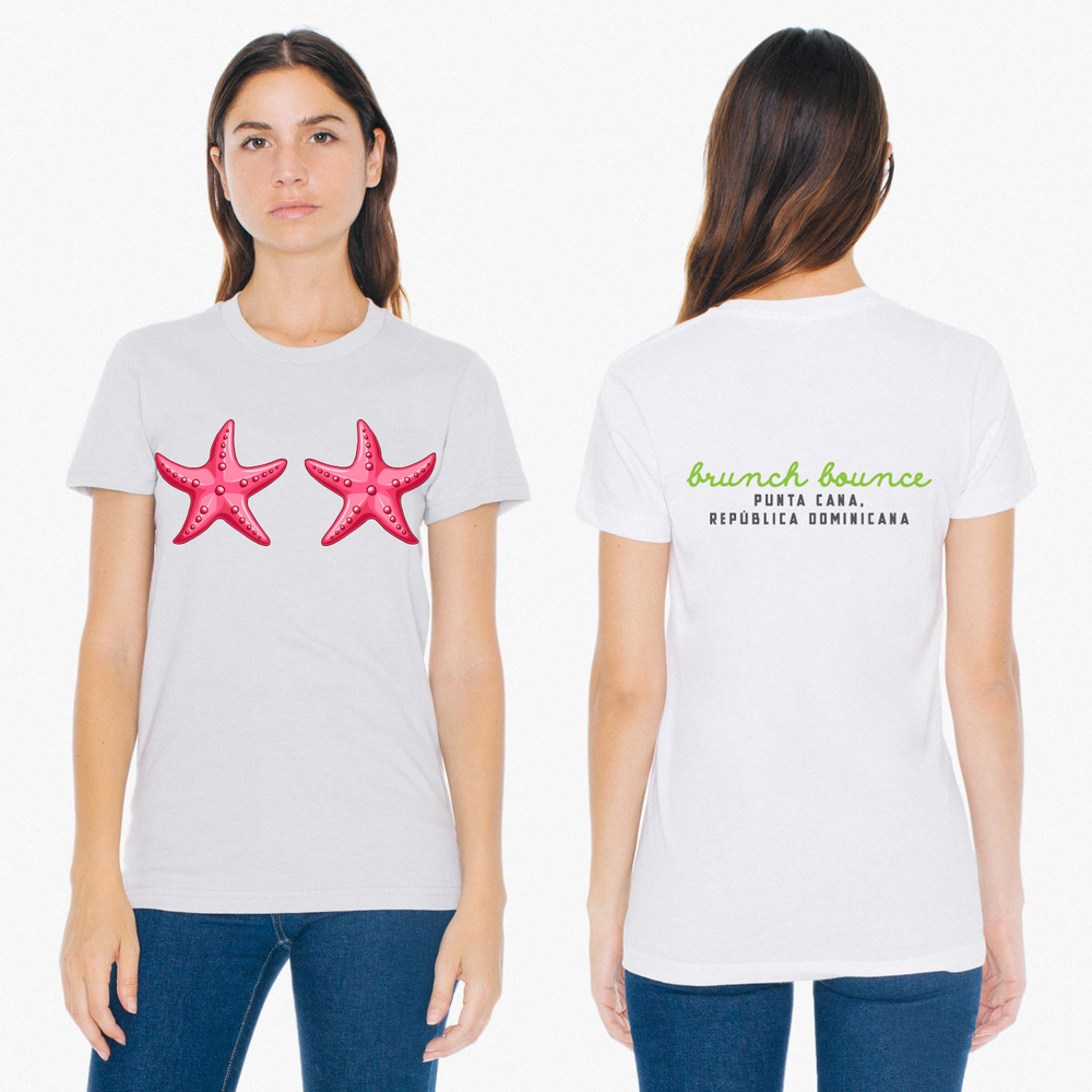 Image of Brunch Bounce x WFAYO Starfish Womens Tee [Pre-Order]