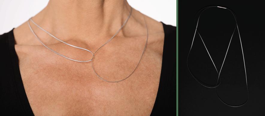 Image of Classic Interlock Necklace