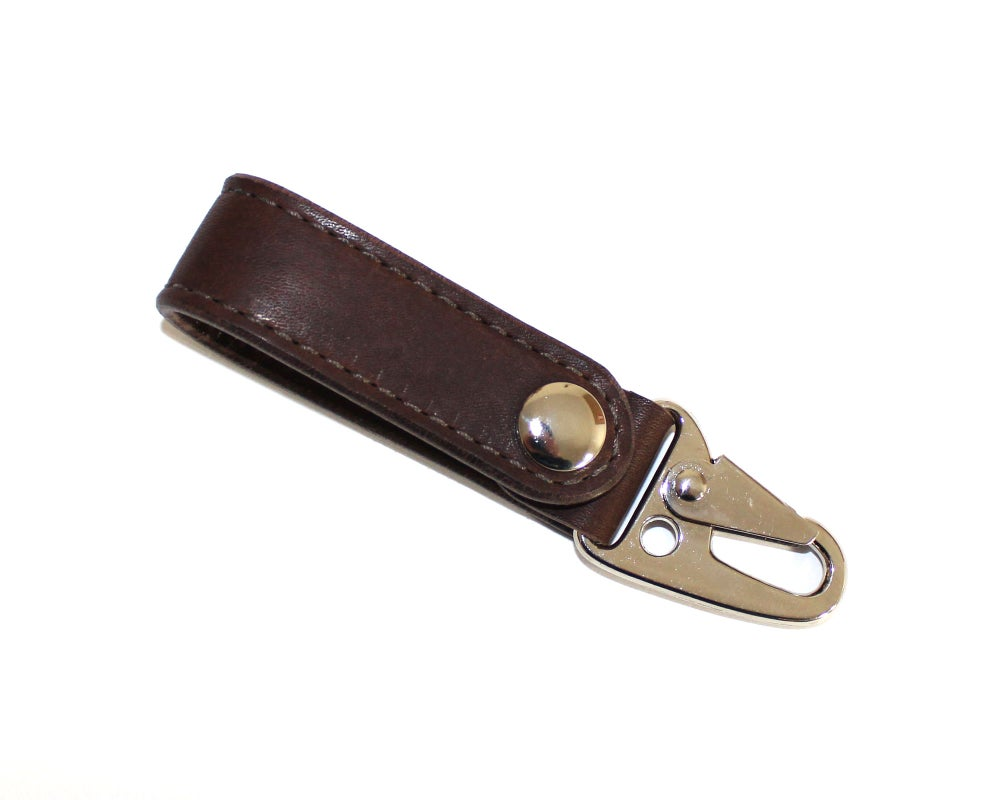Image of Built Lanyard - Dark Brown Essex