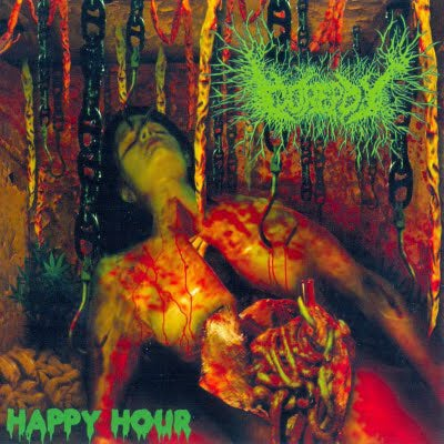 "Image of *RARE* Gorepot debut album ""Happy Hour"" CD"