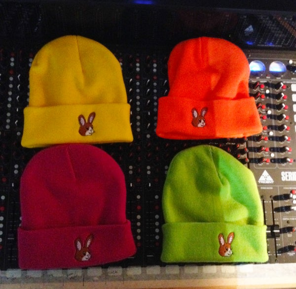 Image of HARE MASCOT KNIT BEANIE