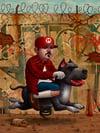 """""""Mario Trece"""" <br> Limited Edition <br>Farmed Print <br>by Bob Dob"""
