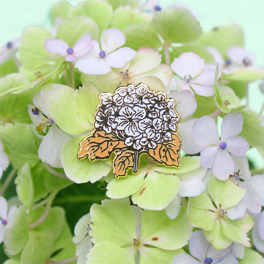 Image of Hydrangea pin