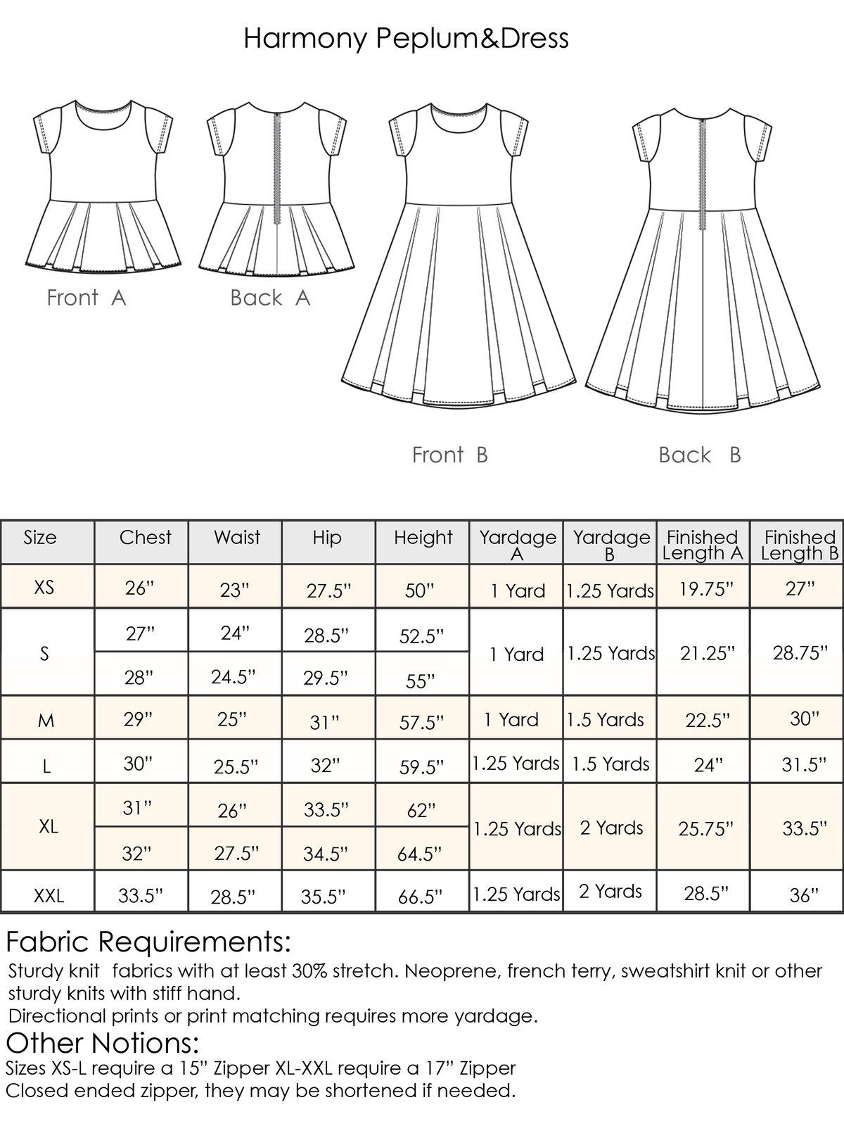 Image of Harmony Peplum&Dress