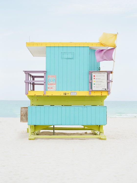Image of Miami lifeguard tower #1