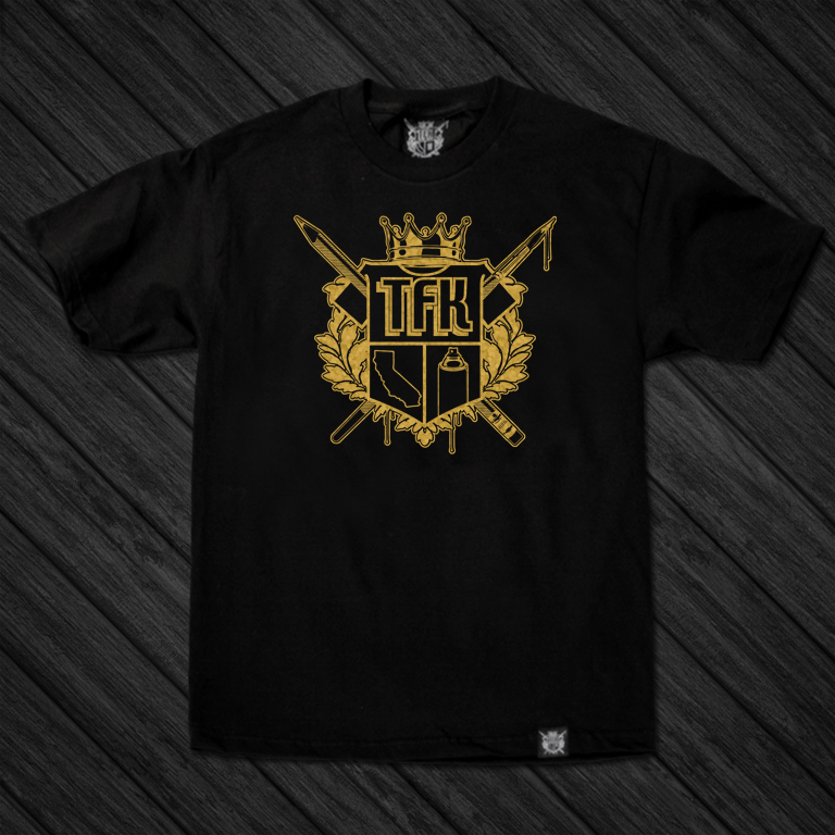Image of TFK Crest (GOLD) / ONLINE EXCLUSIVE!