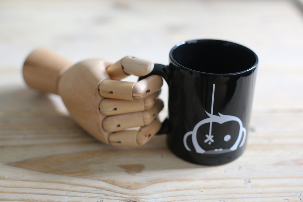 Image of Monkey Climber Camus mug I Black