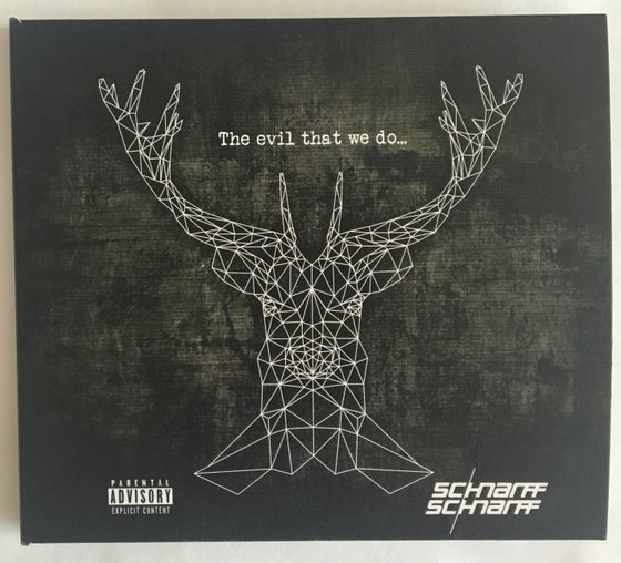 "Image of ""The evil that we do..."" CD"