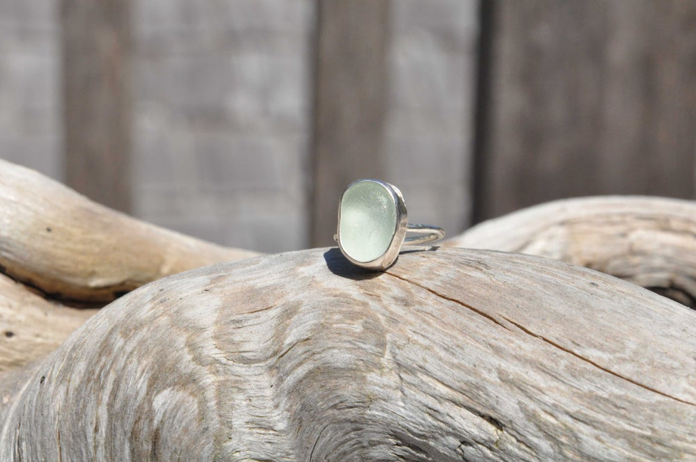Image of Mermaid Tears of Tofino Sea Foam Ring
