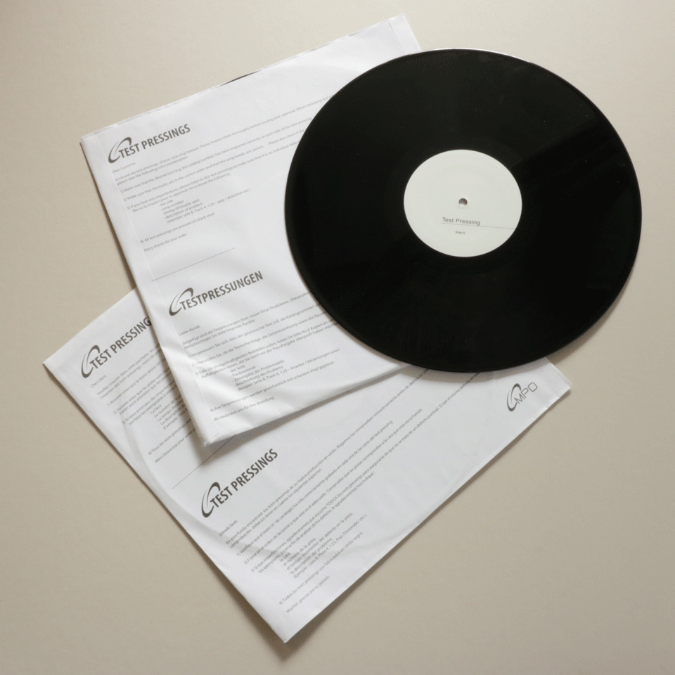 "Image of Cornucopia 'Pursuit Of The Orange Butterfly' EP 12"" Vinyl Test Press"