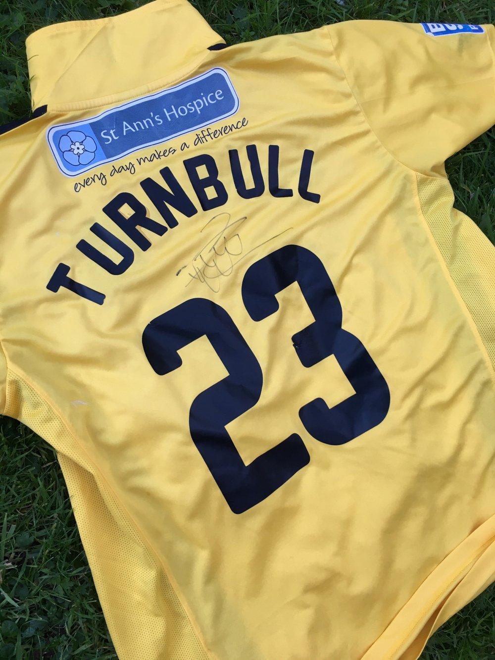 Match Worn 2011/12 Paul Turnbull Third Shirt
