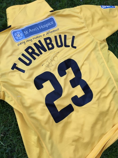 Image of Match Worn 2011/12 Paul Turnbull Third Shirt
