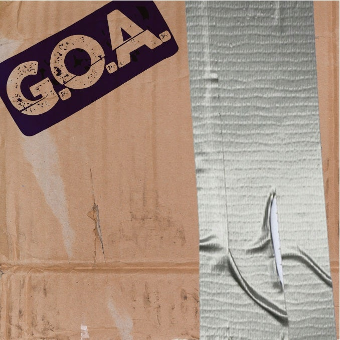 Image of G.O.A self titled CD