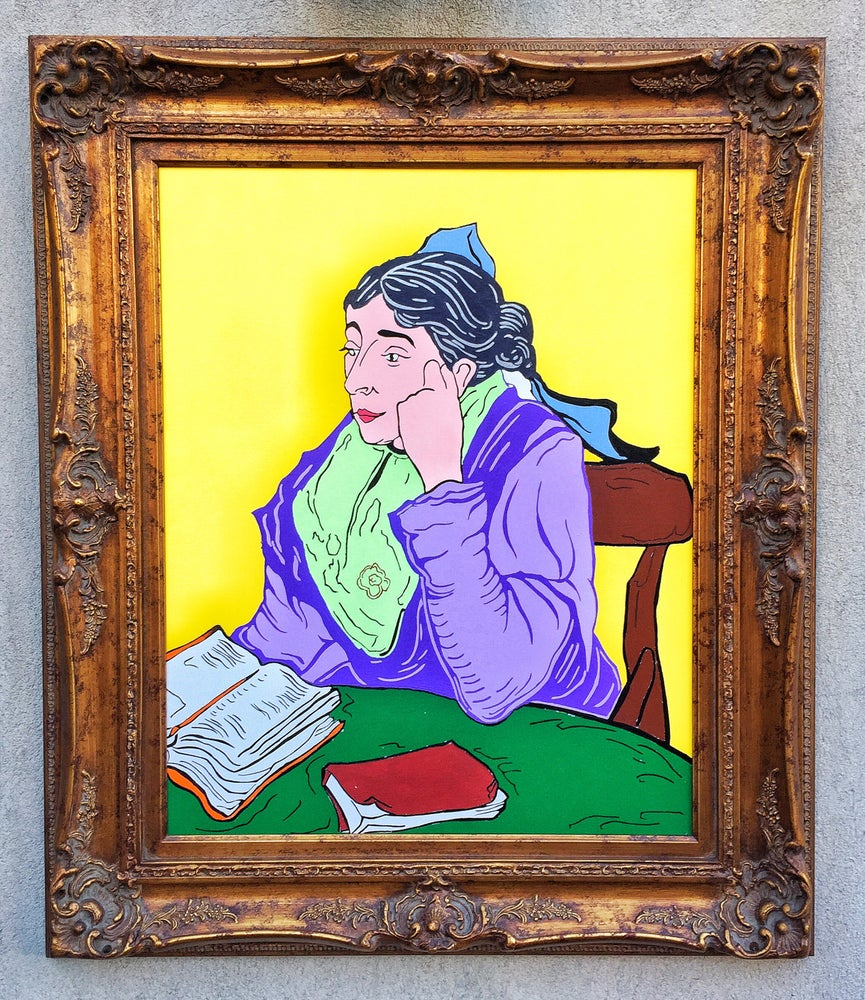 Image of Woman with Book