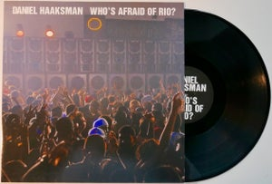 "Image of Daniel Haaksman ""Who´s Afraid Of Rio? EP"" 12"""