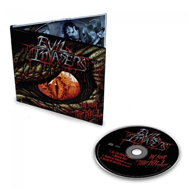 Image of In for the Kill EP - CD / Limited to 500 copies!
