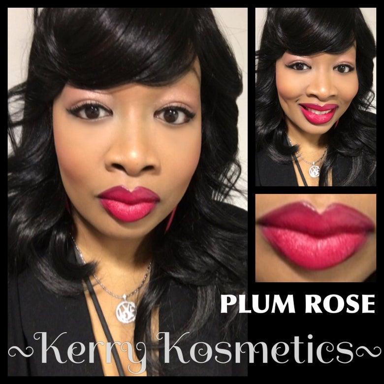 Image of (Matte) Luscious Lipstick- PLUM ROSE