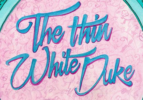 Image of The Thin White Duke - Print -