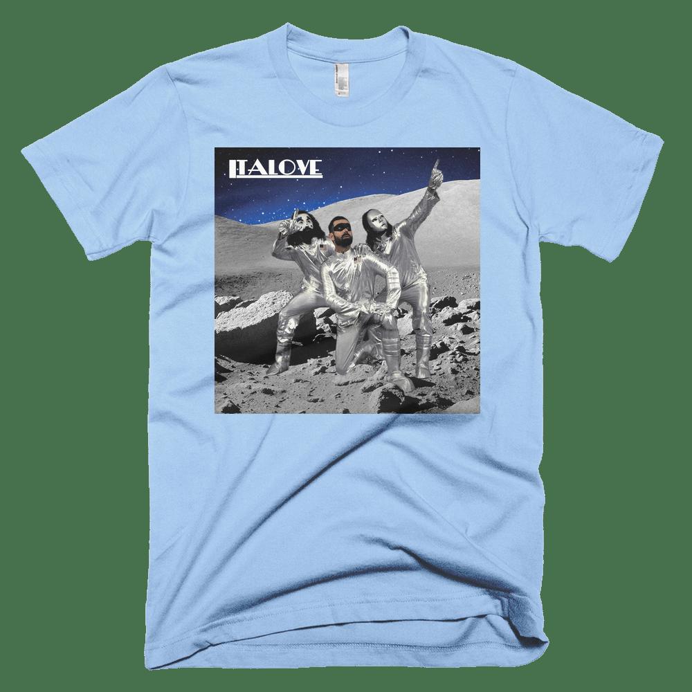 Image of Italove T-Shirt Blue