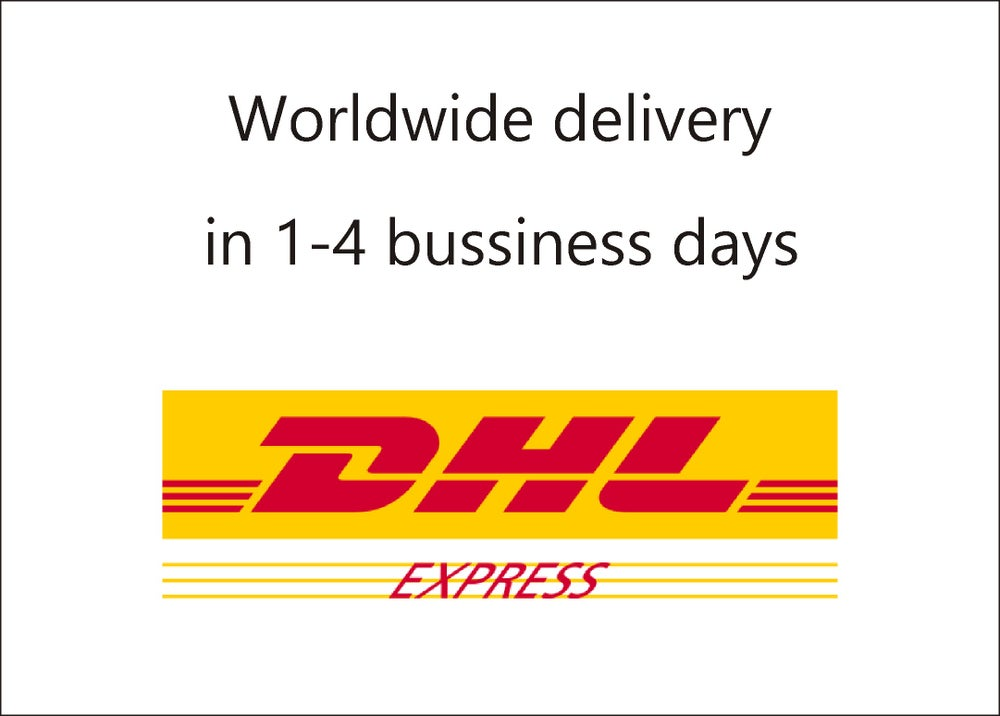 Image of DHL Express shipping Wordwide in 1-4 business days