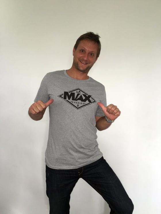 Image of T-shirt  HOMME Gris - La MAX Radio