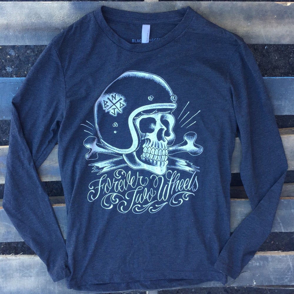 Image of FOREVER TWO WHEELS LONG SLEEVE