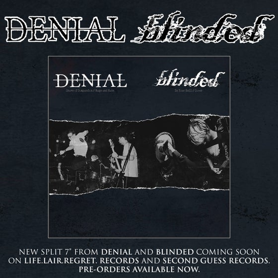 Image of LLR047 DENIAL / BLINDED SPLIT 7""