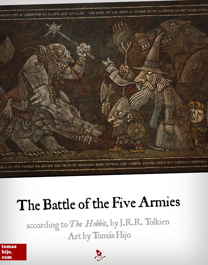 Image of The Battle of the Five Armies poster