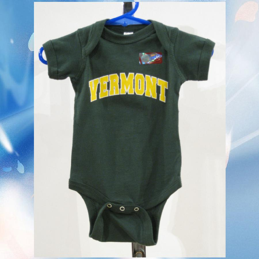 Image of Vermont Onesie - VT Bodysuit - UVM Toddler clothing - University of Vermont clothes - vermont kids