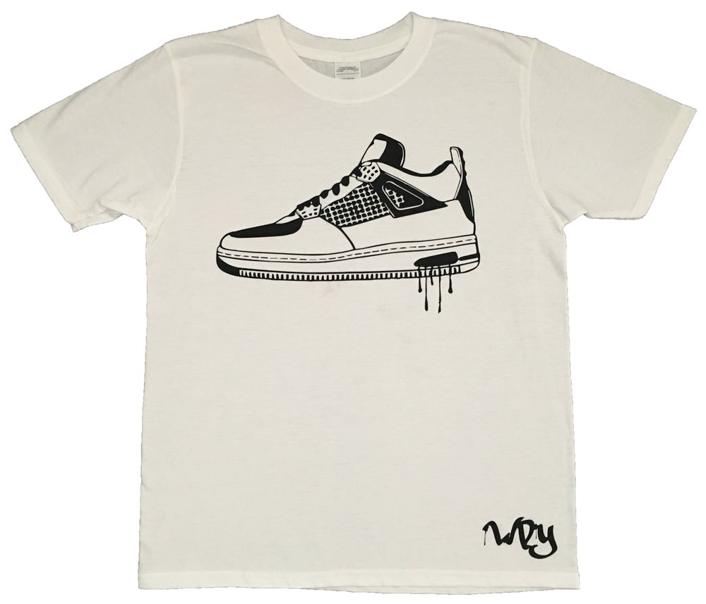 Image of Trainer 7 White T Shirt