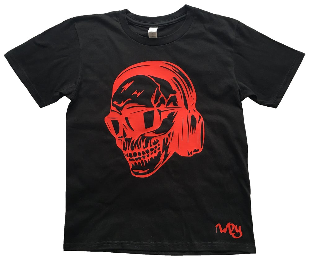 Image of Skull DJ T Shirt