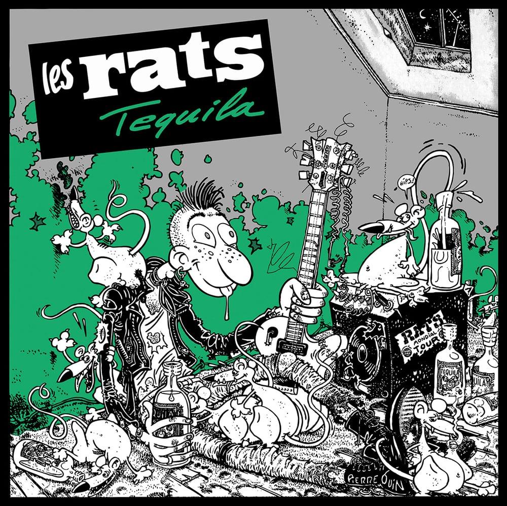 """LES RATS """"Tequila"""" CD réédition 2016"""