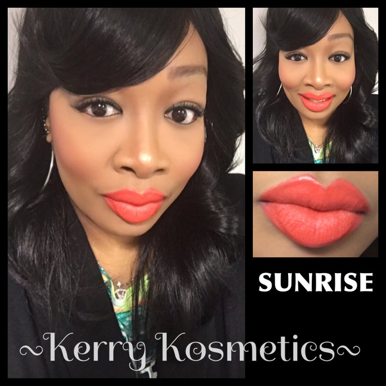 Image of (Matte) Luscious Lipstick- SUNRISE