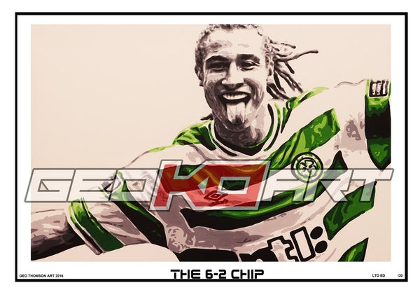 Image of HENRIK LARSSON - THE 6-2 CHIP